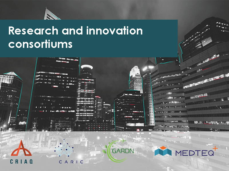Research and Innovation Consortiums